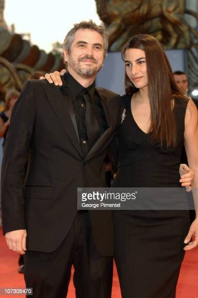 Alfonso Cuaron and Annalisa Cuaron during The 63rd International Venice Film Festival Children of Men Premiere Arrivals at Palazzo del Cinema in...