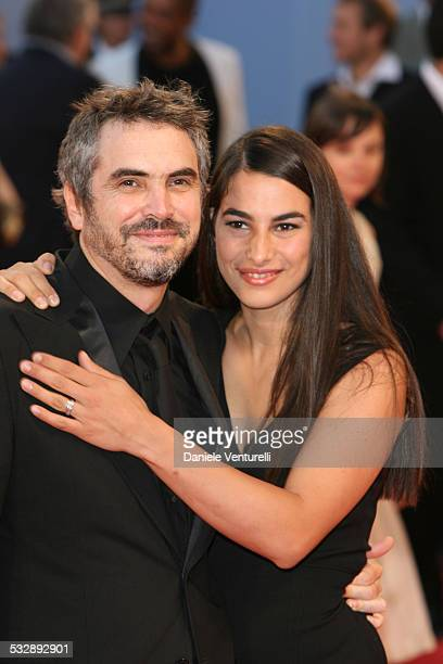 Alfonso Cuaron and Annalisa Cuaron during The 63rd International Venice Film Festival Yeyan Photocall at Palazzo del Casino in Venice Lido Italy