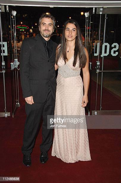 Alfonso Cuaron and Guest during 'The Children of Men' London Premiere Inside Arrivals in London Great Britain