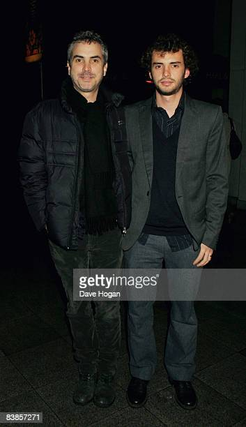 Alfonso Cuaron and Jonas Cuaron arrive at the UK premiere of Ano Una at Curzon Renoir Cinema on November 29 2008 in London England