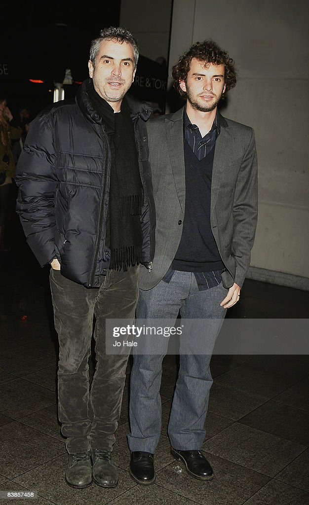 Alfonso Cuaron and Jonas Cuaron arrive at the UK premiere of Ano Una at Curzon Renoir Cinema on November 29, 2008 in London, England.