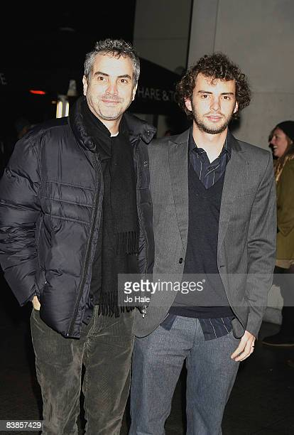 Alfonso Cuaron and Jonas Curaron arrive at the UK premiere of Ano Una at Curzon Renoir Cinema on November 29 2008 in London England