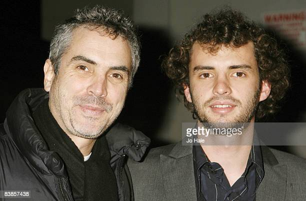 Alfonso Cuaron and Jonas Curaron arrives at the UK premiere of Ano Una at Curzon Renoir Cinema on November 29 2008 in London England