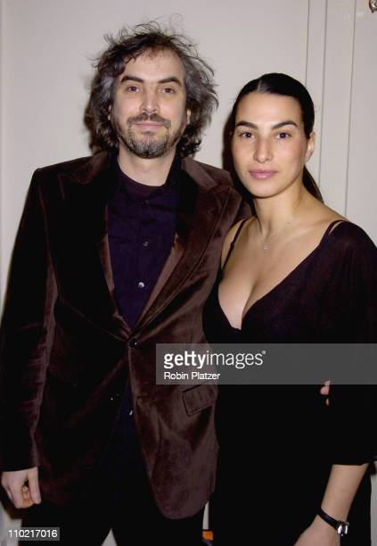 Alfonso Cuaron and wife Annalisa during 57th Annual Writers Guild Awards New York Arrivals at The Pierre Hotel in New York City New York United States