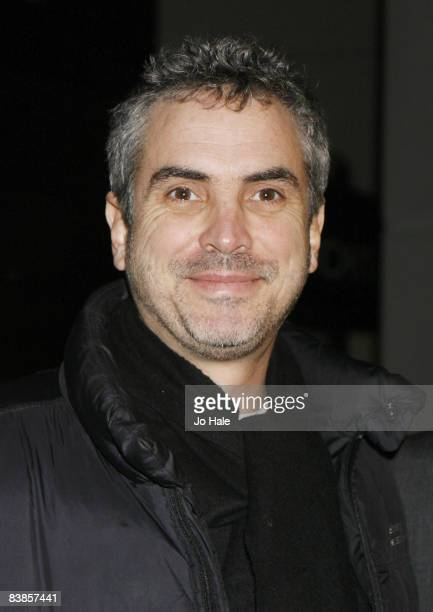 Alfonso Cuaron arrives at the UK premiere of Ano Una at Curzon Renoir Cinema on November 29 2008 in London England