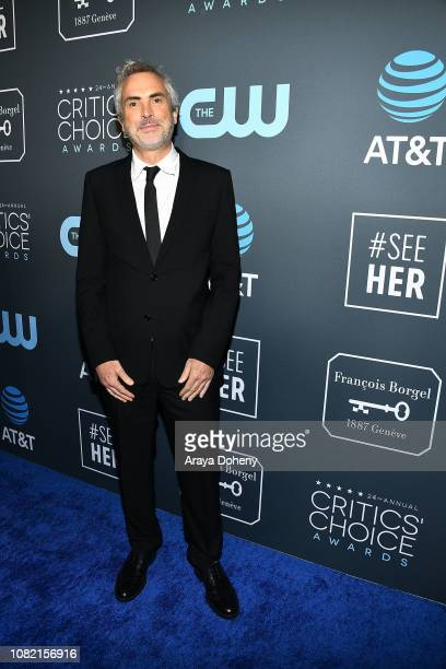 Alfonso Cuaron at Claire Foy Accepts The #SeeHer Award At The 24th Annual Critics' Choice Awards The Barker Hanger on January 13 2019 in Santa Monica...