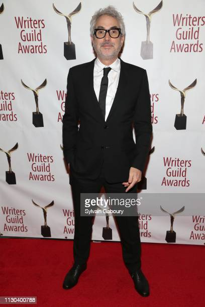 Alfonso Cuaron attends 71st Annual Writers Guild Awards New York Ceremony at Edison Ballroom on February 17 2019 in New York City
