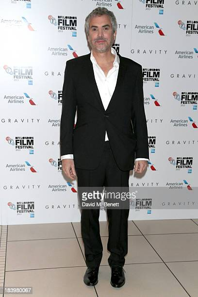 Alfonso Cuaron attends a screening of 'Gravity' during the 57th BFI London Film Festival at Odeon Leicester Square on October 10 2013 in London...
