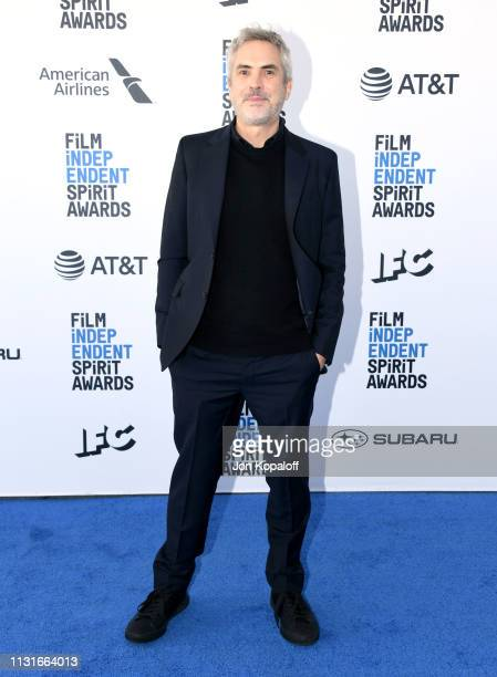 Alfonso Cuaron attends the 2019 Film Independent Spirit Awards on February 23, 2019 in Santa Monica, California.