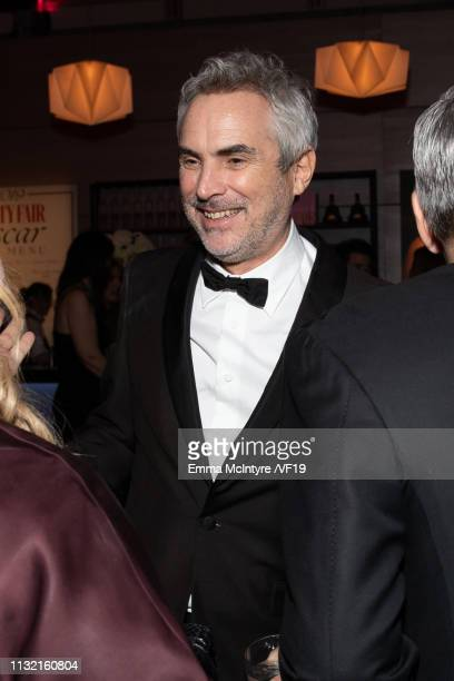 Alfonso Cuaron attends the 2019 Vanity Fair Oscar Party hosted by Radhika Jones at Wallis Annenberg Center for the Performing Arts on February 24...