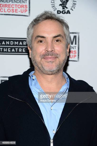 Alfonso Cuaron attends the Film Independent Directors closeup with Alfonso Cuaron at Landmark Nuart Theatre on February 11 2014 in Los Angeles...