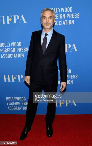 Alfonso Cuaron attends the Hollywood Foreign Press Association's Grants Banquet at The Beverly Hilton Hotel on August 9 2018 in Beverly Hills...
