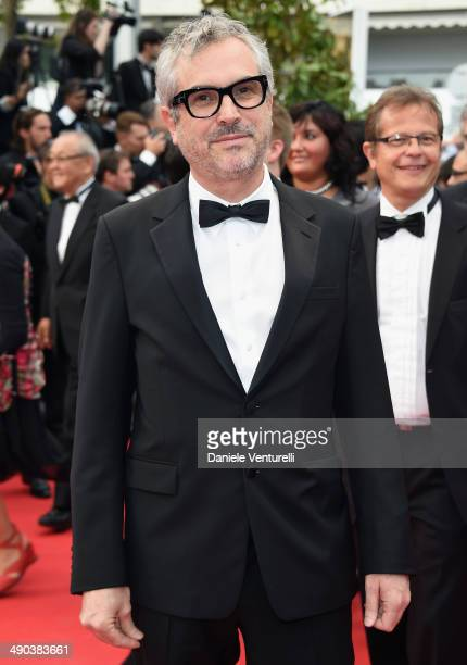 Alfonso Cuaron attends the Opening Ceremony and the 'Grace of Monaco' premiere during the 67th Annual Cannes Film Festival on May 14 2014 in Cannes...