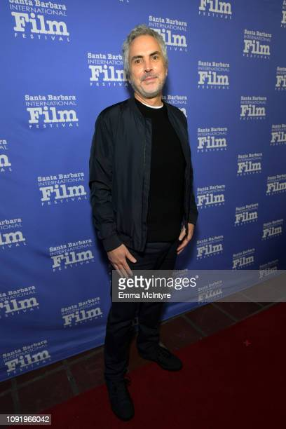 Alfonso Cuaron attends the Outstanding Directors Award during the 34th Santa Barbara International Film Festival at Arlington Theatre on January 31...