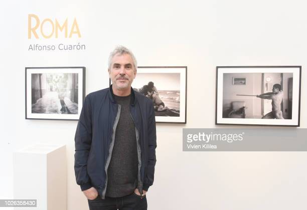 Alfonso Cuaron attends the 'Roma' photography exhibit at the Telluride Film Festival 2018 on September 2 2018 in Telluride Colorado