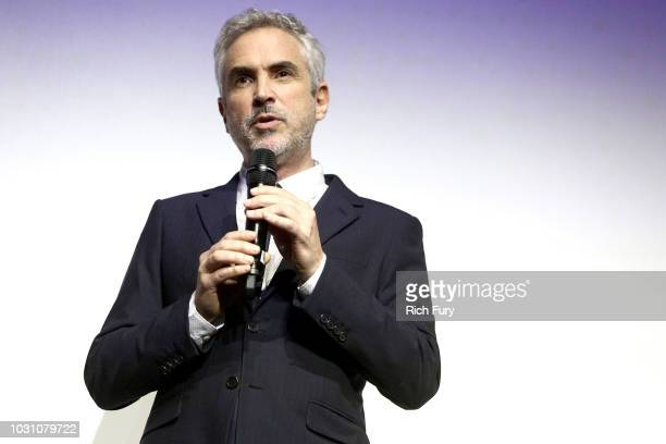 Alfonso Cuaron attends the 'ROMA' red carpet premiere on September 10 2018 in Toronto Canada