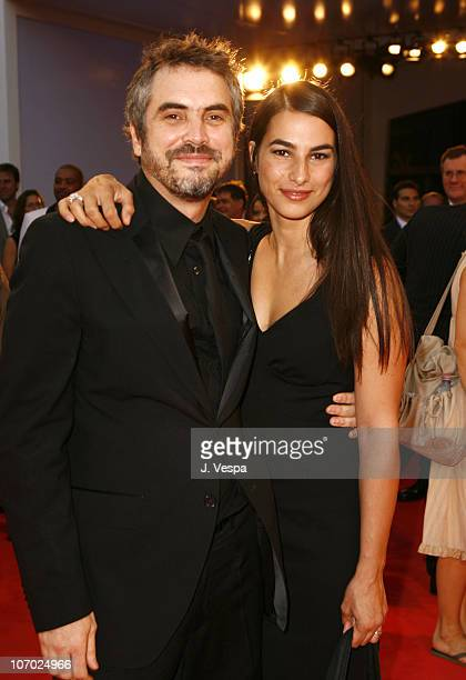 Alfonso Cuaron director and Annalisa Bugliani during The 63rd International Venice Film Festival 'Children of Men' Premiere Red Carpet and Inside at...
