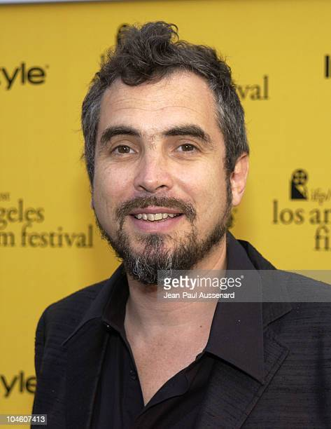 Alfonso Cuaron during 2002 IFP/West Los Angeles Film Festival Opening Night at Arclight Cinerama in Hollywood California United States
