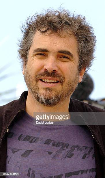 Alfonso Cuaron during 2006 Cannes Film Festival - El Laberinto del Fauno Photocall at Palais des Festival Terrace in Cannes, France.