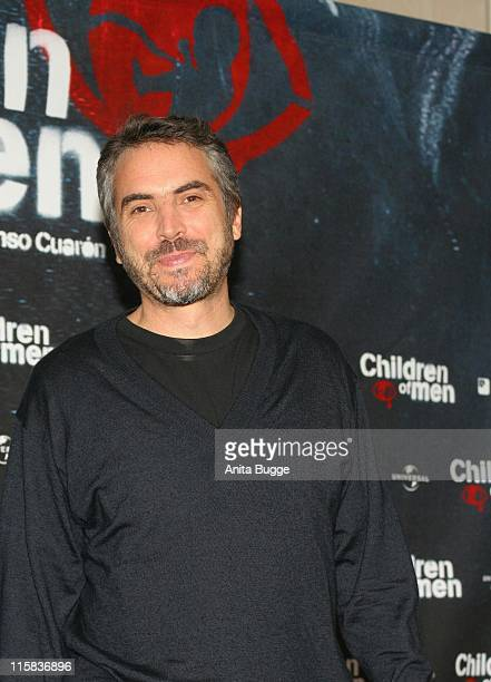 Alfonso Cuaron during 'Children of Men' Berlin Photocall in Berlin Berlin Germany