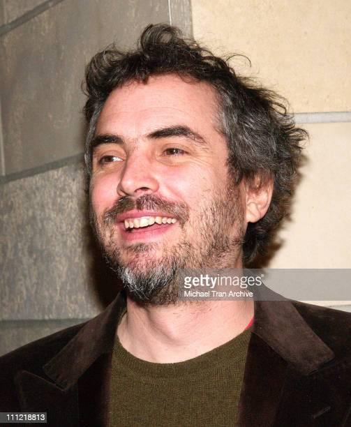 Alfonso Cuaron during 'Duck Season' Los Angeles Premiere Arrivals at CalArts Redcat Theater At Walt Disney Concert Hall in Los Angeles United States