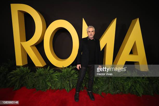 Alfonso Cuaron during the premiere of the Netflix movie Roma at Cineteca Nacional on December 18 2018 in Mexico City Mexico