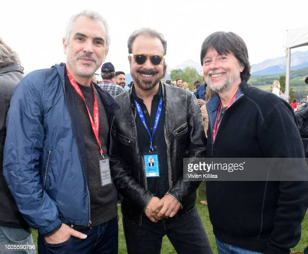 Alfonso Cuaron Ed Zwick and Ken Burns attend the Telluride Film Festival 2018 on August 31 2018 in Telluride Colorado