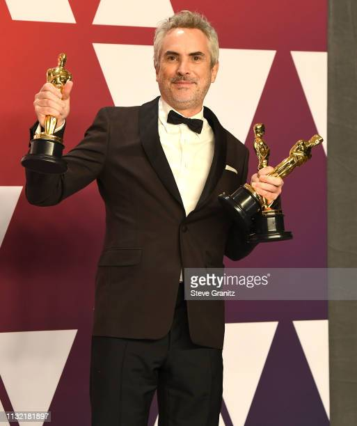 Alfonso Cuaron poses at the 91st Annual Academy Awards at Hollywood and Highland on February 24 2019 in Hollywood California