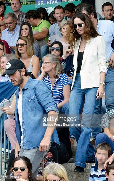 Alfonso de Borbon and Eugenia Silva attend Global Champion Tour Day on May 1 2015 in Madrid Spain