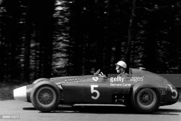 Alfonso de Portago Ferrari D50 Grand Prix of Germany Nurburgring 05 August 1956