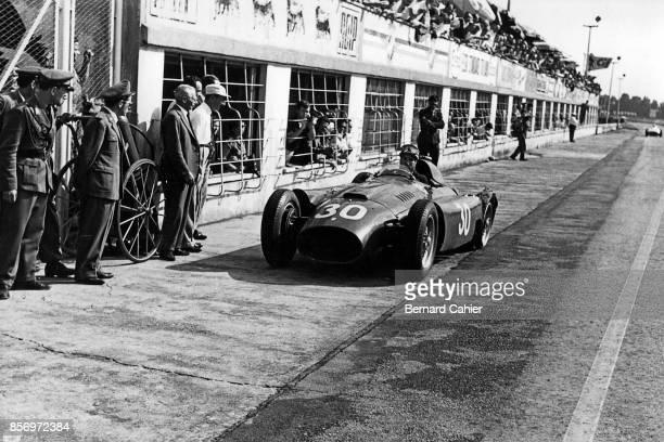 Alfonso de Portago Ferrari D50 Grand Prix of Italy Autodromo Nazionale Monza 02 September 1956
