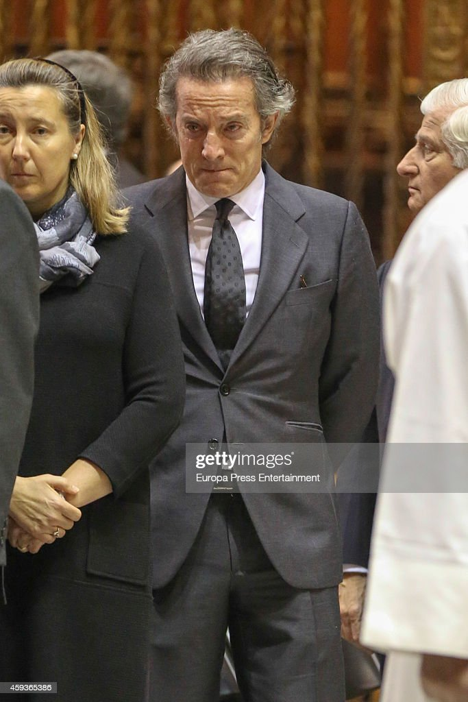 Funeral Service For Duchess of Alba In Seville Cathedral