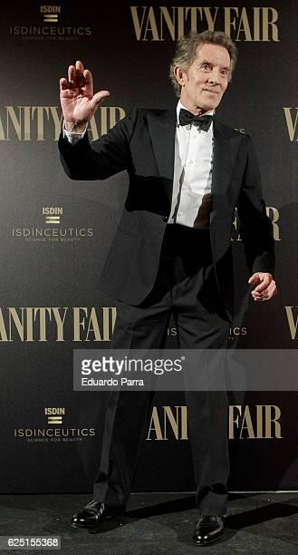 Alfonso Diez Carabantes attends the 'Vanity Fair number 100 party' photocall at Real Academia de Bellas Artes de San Fernando on November 22 2016 in...