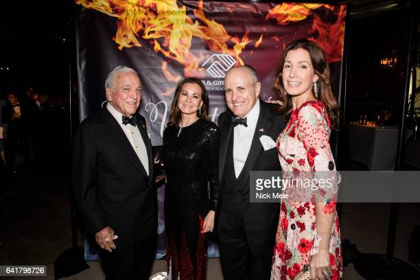 Alfonso Fanjul Judith Giuliani Rudy Giuliani and Raysa Fanjul attend Boys and Girls Clubs of Palm Beach County Celebrate the 36th Annual Winter Ball...