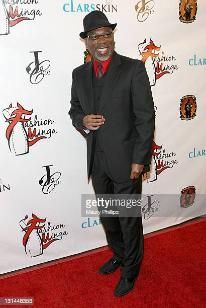 Alfonso Freeman arrives at 2011 LA Fashion Week 'Fashion Minga' at BOULEVARD3 on March 18 2011 in Los Angeles California