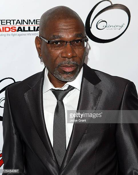 Alfonso Freeman arrives to the Fashion Minga Los Angeles event at Boulevard3 on October 22 2010 in Los Angeles California
