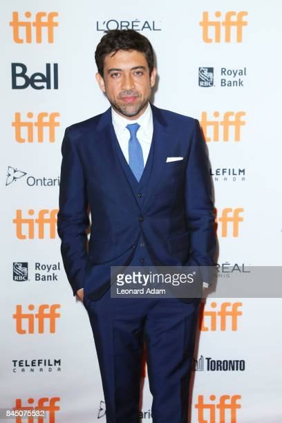 Alfonso GomezRejon attends The Current War premiere during the 2017 Toronto International Film Festival at Princess of Wales Theatre on September 9...