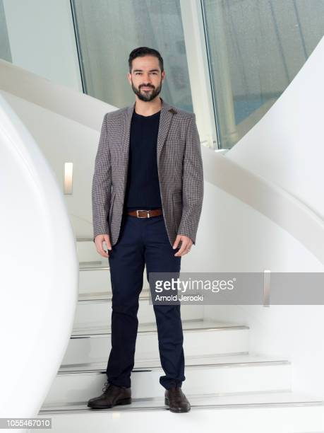 Alfonso Herrera attend the 'Talent Presented By' photocall as part of the MIPCOM 2018 on October 16 2018 in Cannes France