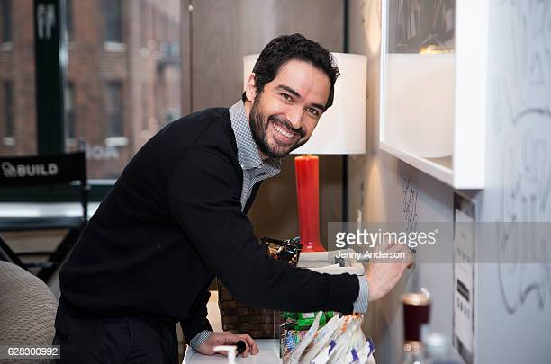 Alfonso Herrera attends AOL Build Series at AOL HQ on December 7 2016 in New York City