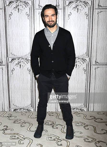 Alfonso Herrera attends Build Presents to discuss 'The Exorcist' at AOL HQ on December 7 2016 in New York City