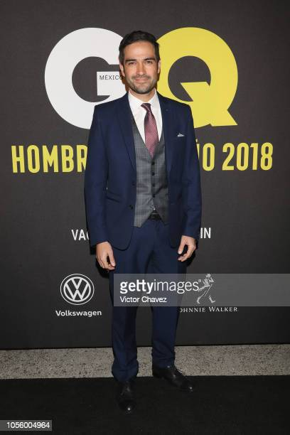 Alfonso Herrera attends GQ Mexico Men of the Year Awards 2018 at Centro Cultural Roberto Cantoral on October 31 2018 in Mexico City Mexico
