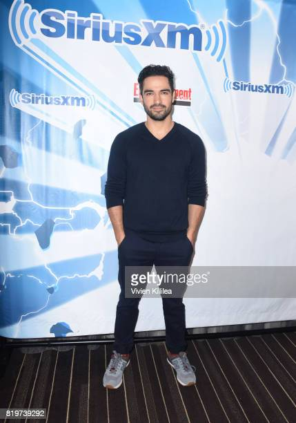 Alfonso Herrera attends SiriusXM's Entertainment Weekly Radio Channel Broadcasts From Comic Con 2017 at Hard Rock Hotel San Diego on July 20 2017 in...