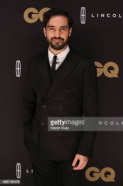 Alfonso Herrera poses for a photo during the red carpet of GQ Mexico Men of The Year 2015 Awards at Live Aqua on November 04 2015 in Mexico City...