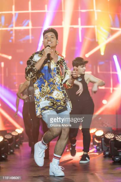 Alfonso performs on stage during OT Tour 2019 on May 24, 2019 in A Coruña, Spain.