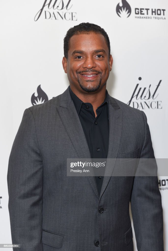 Alfonso Ribeiro attends grand opening event for JustDance LA at Just Dance Los Angeles on October 11, 2017 in Studio City, California.