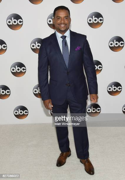 Alfonso Ribeiro attends the 2017 Summer TCA Tour Disney ABC Television Group at The Beverly Hilton Hotel on August 6 2017 in Beverly Hills California