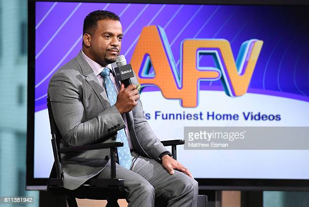 Alfonso Ribeiro attends The Build Series Presents Alfonso Ribeiro discussing his show 'America's Funniest Home Videos' at AOL HQ on September 29 2016...