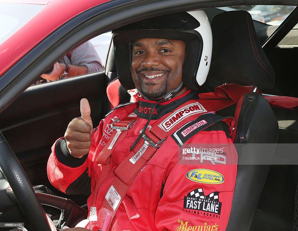 38th Annual Toyota Pro/Celebrity Race - Press Day : News Photo