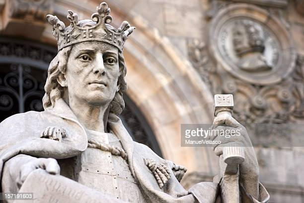 Alfonso X, con sabia con cama king