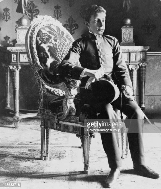 Alfonso XIII 1886 - 1941), King of Spain, posthumous son of Alfonso XII of Spain, proclaimed King at his birth. He reigned from 1886-1931. His...